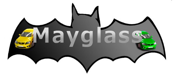Logotipo Mayglass
